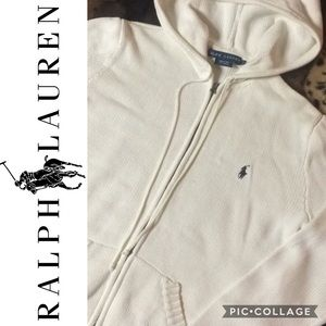 Polo Ralph Lauren Classic Hooded Zip Up Cardigan